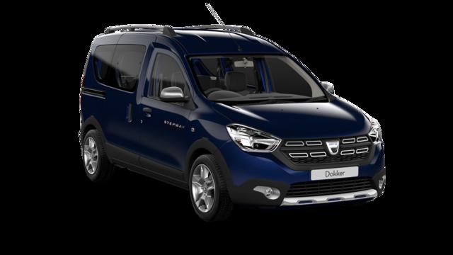 Dacia dokker z przodu
