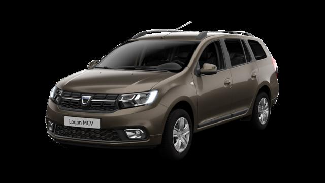 Dacia Logan MCV z przodu