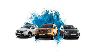 range samochodów Dacia