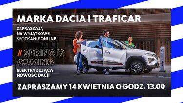 Nowa Dacia Spring Electric