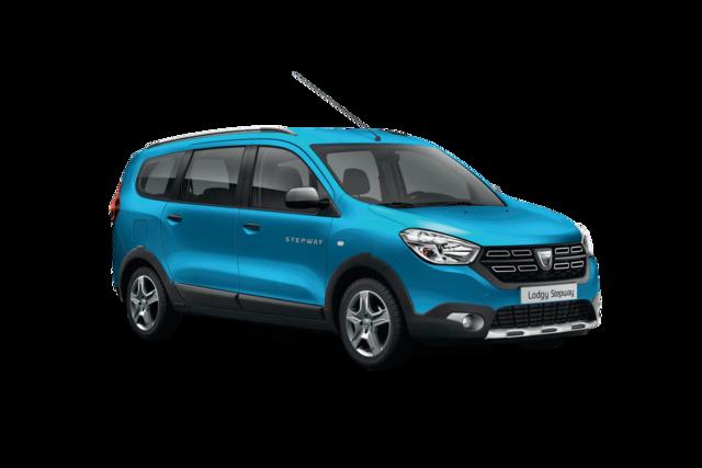 Lodgy - Van na zewnątrz w kolorze niebieskim