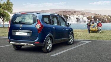 Dacia Lodgy - Na zewnątrz, widok z tyłu