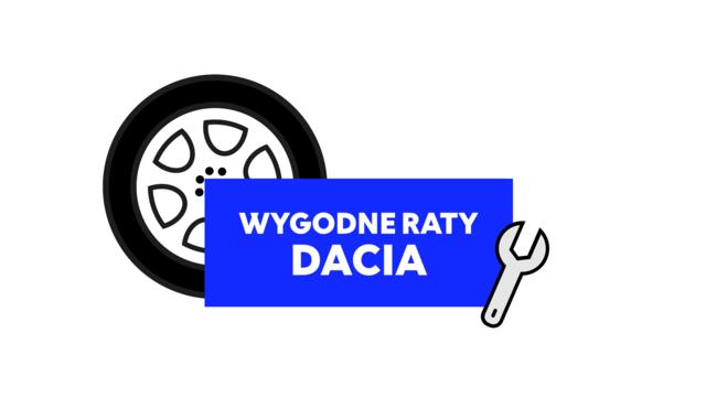 wygodne raty Dacia