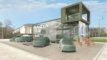estreia Dacia salao Munique