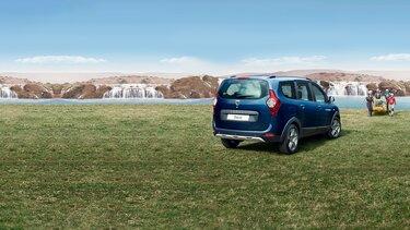 Dacia Lodgy - Exterior, vista traseira