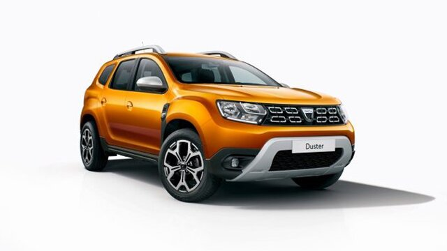 Dacia Duster Orange