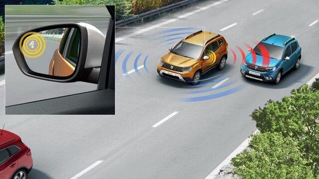 Dacia Duster HJD Techroad - Vedere din interior