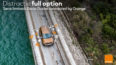 lansare dacia seria limitata duster connected by orange