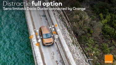 lansare dacia seria limitata duster connected by orange