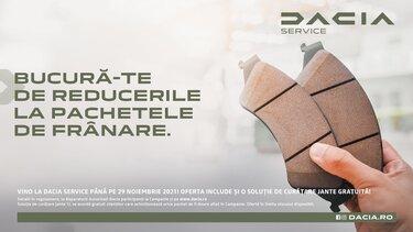 pachete promotionale franare dacia service