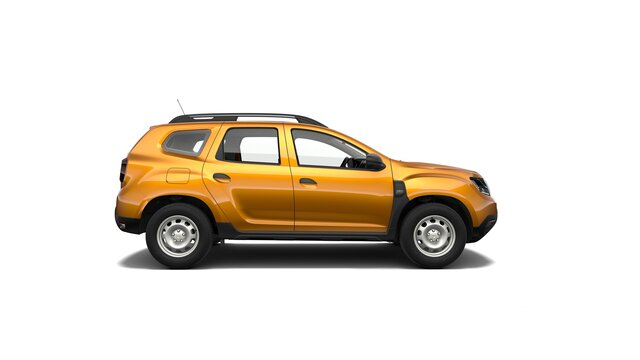 Duster Orange Rabla