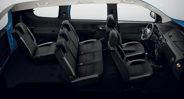 Dacia Lodgy Stepway - vazdušni jastuci