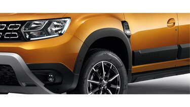 Dacia Duster tillbehör - Skärmbreddare