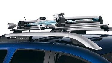 Dacia Duster tillbehör - Skidhållare på tak