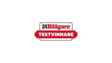 ViBilägare Testvinnare logotyp