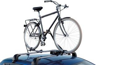 Dacia Sandero tillbehör - Cykelhållare på tak
