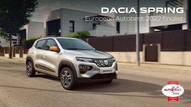 Dacia Spring v finalu izbora