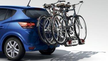 Nosič bicyklov na ťažné zariadenie – Nová Dacia Sandero