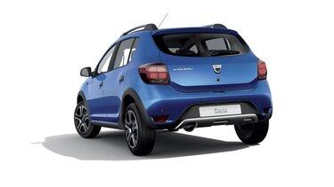 Dacia Sandero Stepway Celebration - šikmý pohled na zadní část