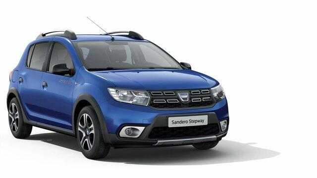 Dacia Sandero Stepway Celebration - šikmý pohled na přední část