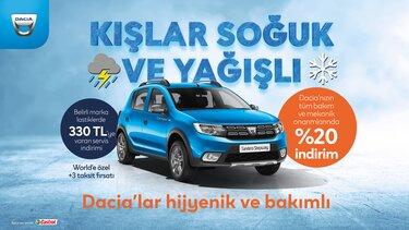 Dacia- Satış sonrası kampanya
