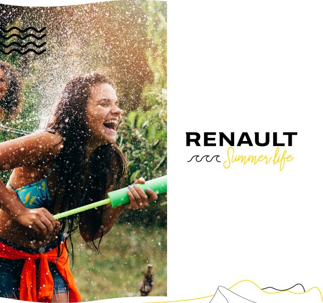 Summer life Renault