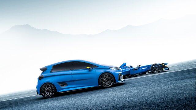 Renault ZOE e-Sport Concept - Chasis