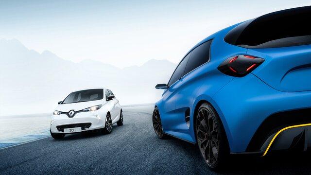 Renault ZOE e-Sport Concept - Tablero