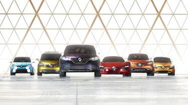 Gama de Concept Cars