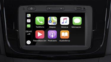 Apple CarPlay™ para Media Nav Evolution