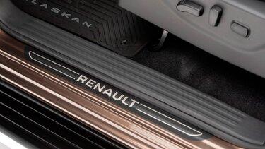 Renault ALASKAN - Barra de la plataforma de carga