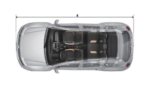 Renault DUSTER - Dimensiones