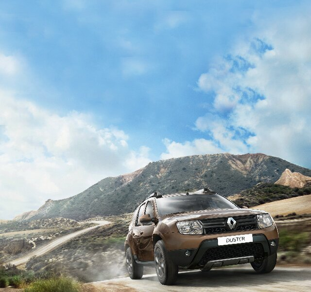 Exterior Renault DUSTER