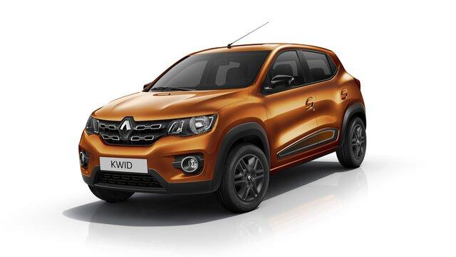 Renault KWID - Vista frontal