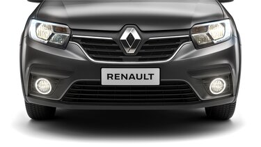 Vista frontal Renault LOGAN