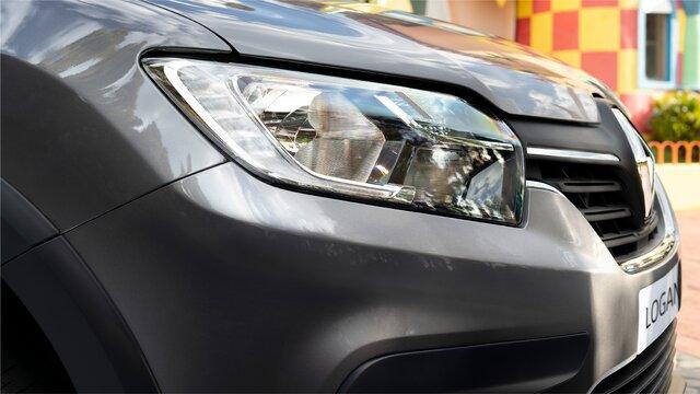 Vista posterior Renault LOGAN