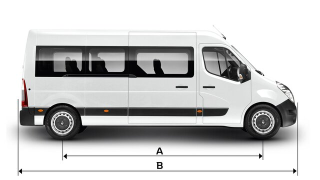 Dimensiones minibus