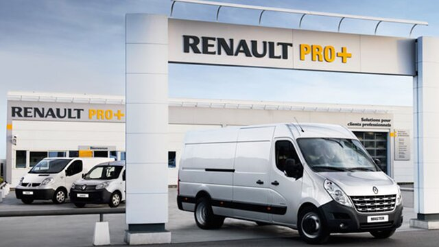 Red de especialistas Renault Pro+