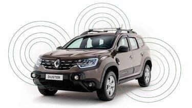 Renault DUSTER - Soporte para tabletas