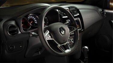 Renault SANDERO - Consola central