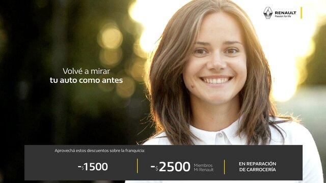 Renault Servicios - Oferta de cambio estándar
