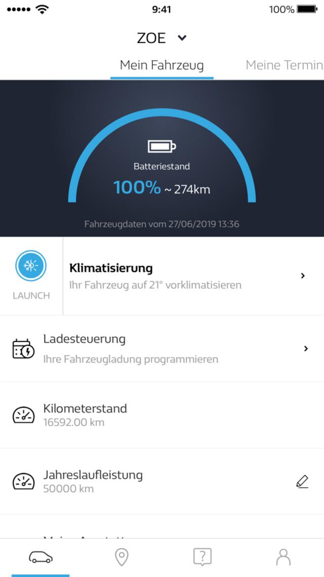 MYRenault - App