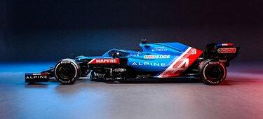 Alpine Formel 1 Rennwagen 2021