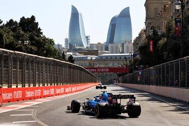 Alpine F1 in Baku