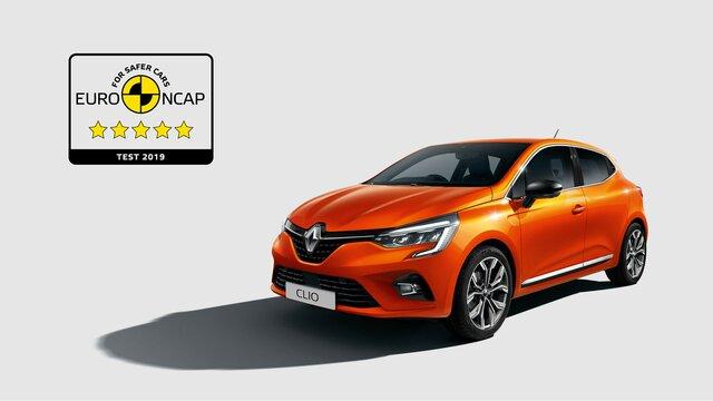 ...und 5 Sterne von Euro NCAP!