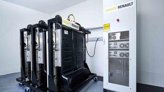 Groupe Renault Kreislaufwirtschaft