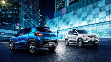 Renault Modelle bei Nacht