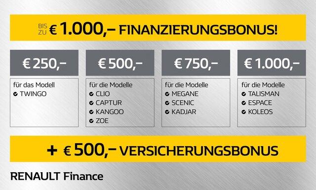 Renault Finanzierungsmodelle