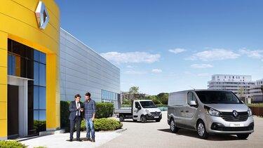 Renault Pro+ Expertennetzwerk