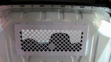 Renault Trennfenstergitter
